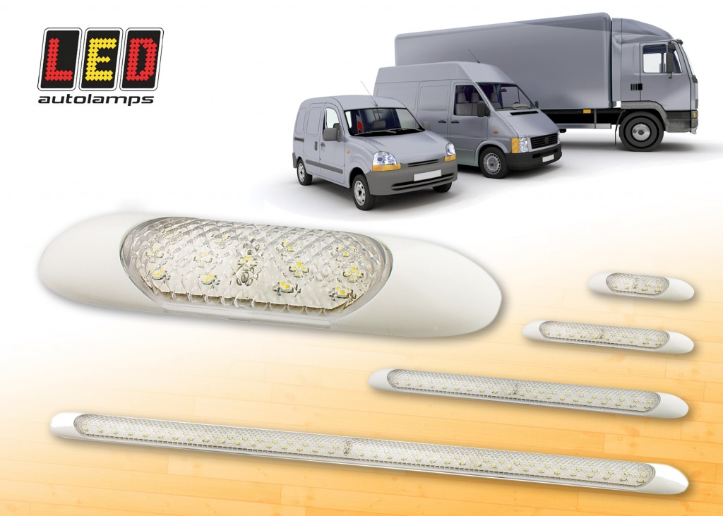 LED AUTOLAMPS new interior light strips