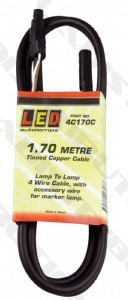 3. Lamp to lamp cable