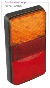 150ARM RECTANGLE TAIL LAMP